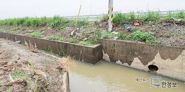 한국농어촌공사, 용수로 준설 '도루묵'